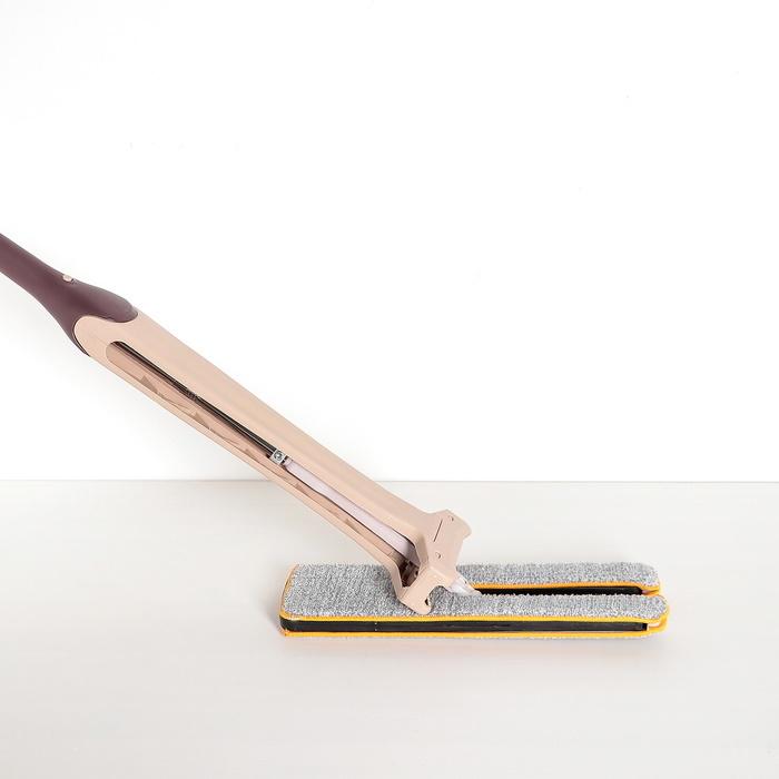 Швабра плоская Лентяйка отжимная двухсторонняя плоская 134х3812 см