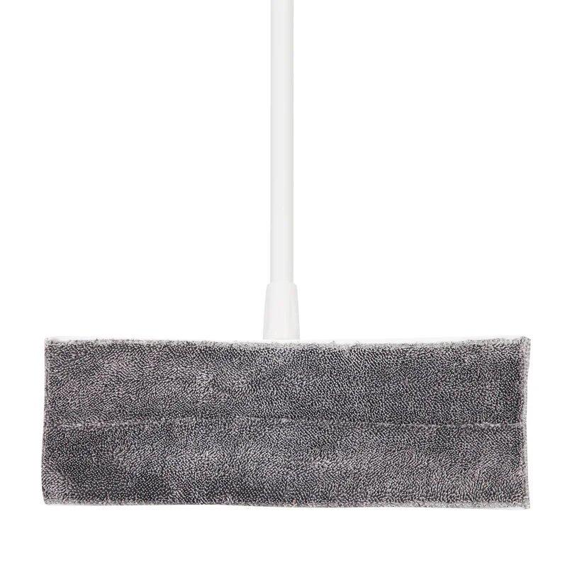 Швабра гринвей для мытья пола с микрофиброй BoomJoy