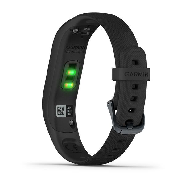 Фитнес-браслет Garmin Vivosmart 4 черные большой размер