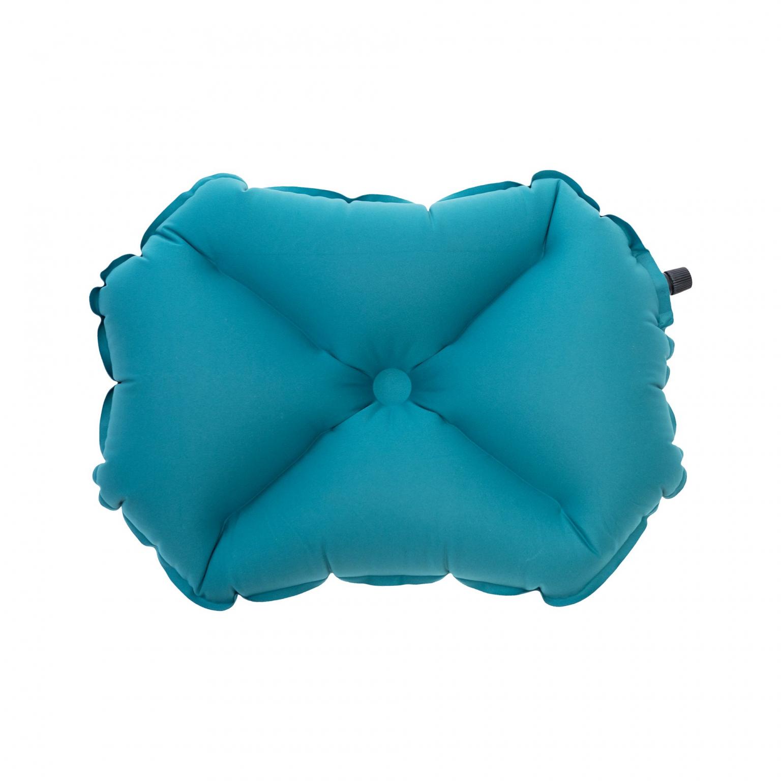 Надувная подушка Pillow X large Green, зеленый (+ Антисептик-спрей для рук в подарок!)