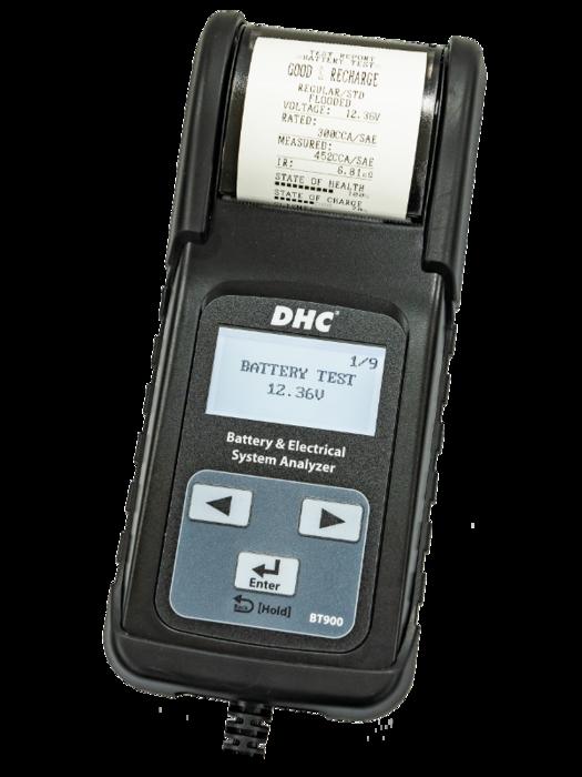 Тестер аккумуляторных батарей DHC BT900 (6/12В)