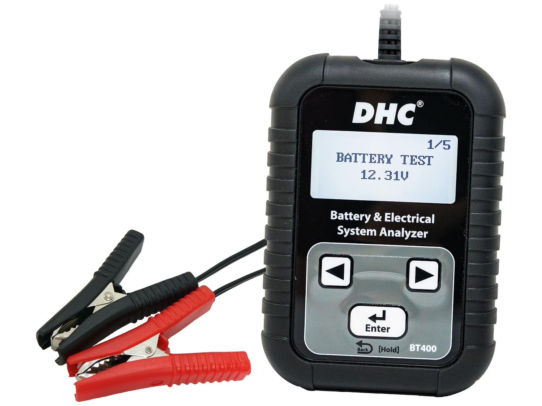 Тестер аккумуляторных батарей DHC BT400 (12/24В)