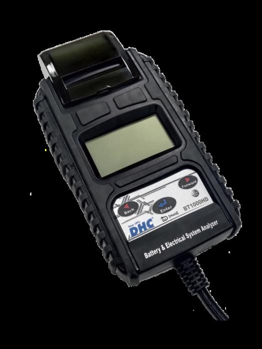 Тестер аккумуляторных батарей DHC BT1000HD (6|12|24В)