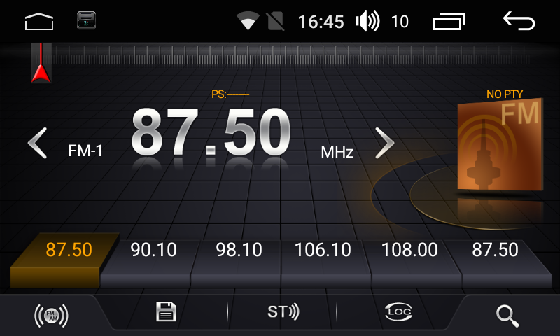 Штатная магнитола FarCar s185 Universal на Android (LX832) (+ Камера заднего вида в подарок!)