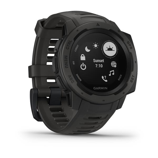 Прочные GPS-часы Garmin Instinct Monterra Gray