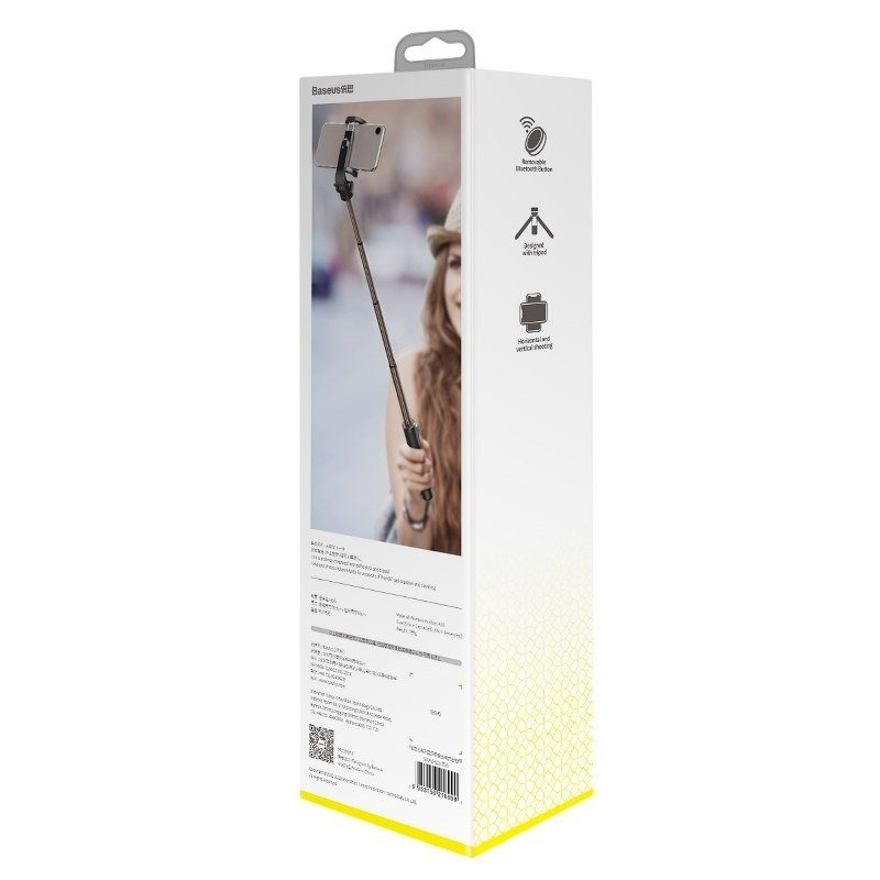 Селфи палка Baseus Lovely Bluetooth Folding Bracket Selfie Stick Black