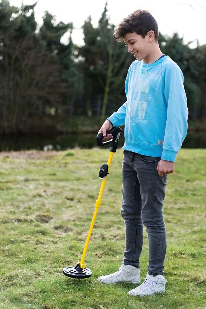 Металлоискатель детский Bresser National Geographic (+ Совок поисковый в подарок!)