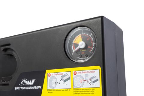 Компрессор автомобильный AirMan Res Q Max Tire Inflator (+ Мешки для колёс в подарок!)