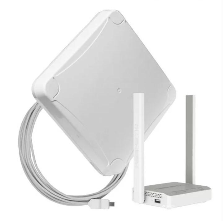 Комплект для мобильного интернета WiFi 3G/4G DS-LINK DS-4G-16M L-3 (Антенна MIMO 16дБ, USB кабель 10м, роутер Wi-Fi 2...