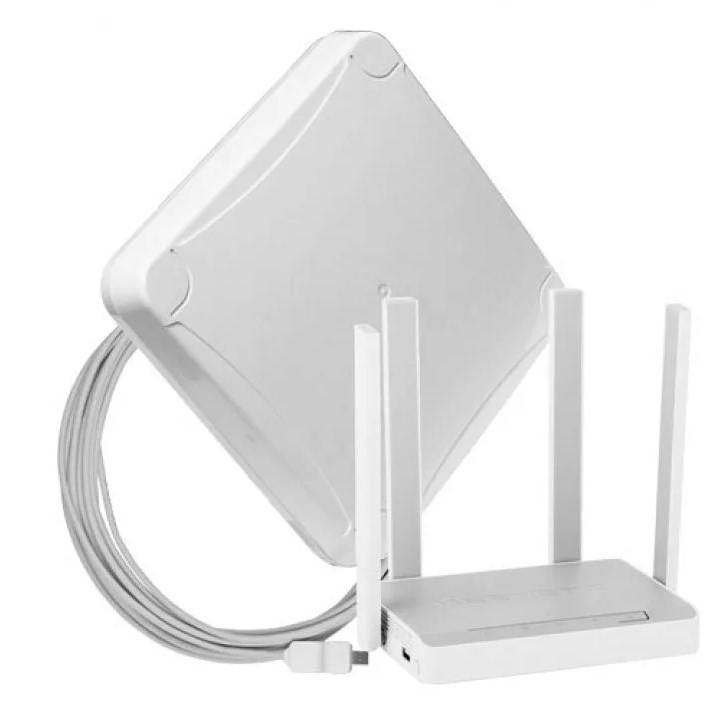 Комплект для мобильного интернета WiFi 3G/4G DS-Link DS-4G-16M L-4 (Антенна MIMO 16дБ, USB кабель 10м, роутер Wi-Fi 2...