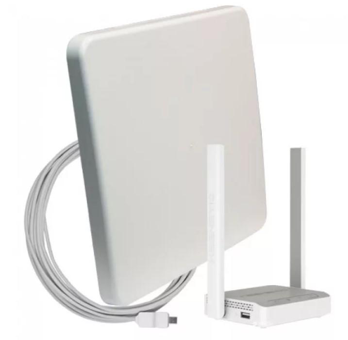 Комплект для мобильного интернета WiFi 3G/4G DS-Link DS-4G-18M L-3  (Антенна MIMO 18дБ, USB кабель 10м, роутер Wi-Fi 2..