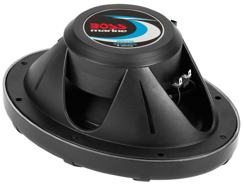 """Влагозащищенные динамики BOSS Audio Marine MR692B (6"""" x 9"""", 350 Вт.) (+ Антисептик-спрей для рук в подарок!)"""