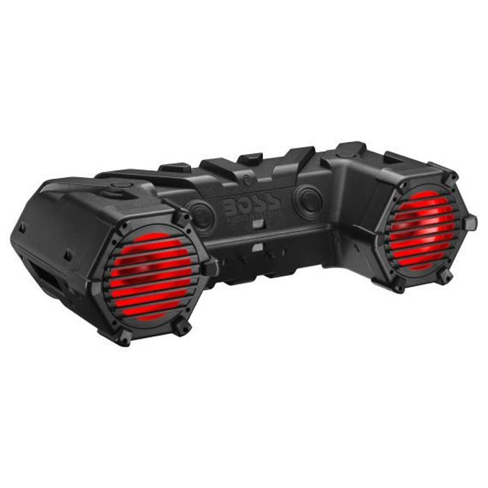 """Аудиосистема BOSS Audio Marine ATV95LRGB (LED/RGB, 2 динамика 8"""", 700 Вт.) (+ Антисептик-спрей для рук в подарок!)"""
