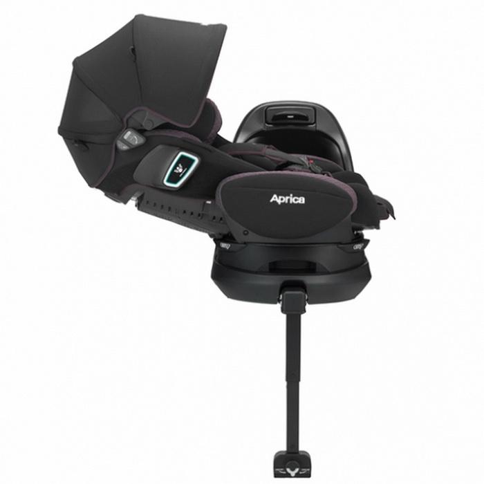 Автокресло Aprica Fladea Grow ISOFIX 360° Safety Чёрный (BK)