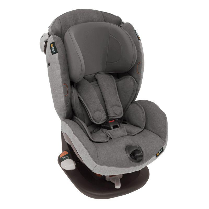 Автокресло BeSafe iZi-Comfort X3 Metallic Mèlange (+ Защитный чехол СМЕШАРИКИ в подарок!)