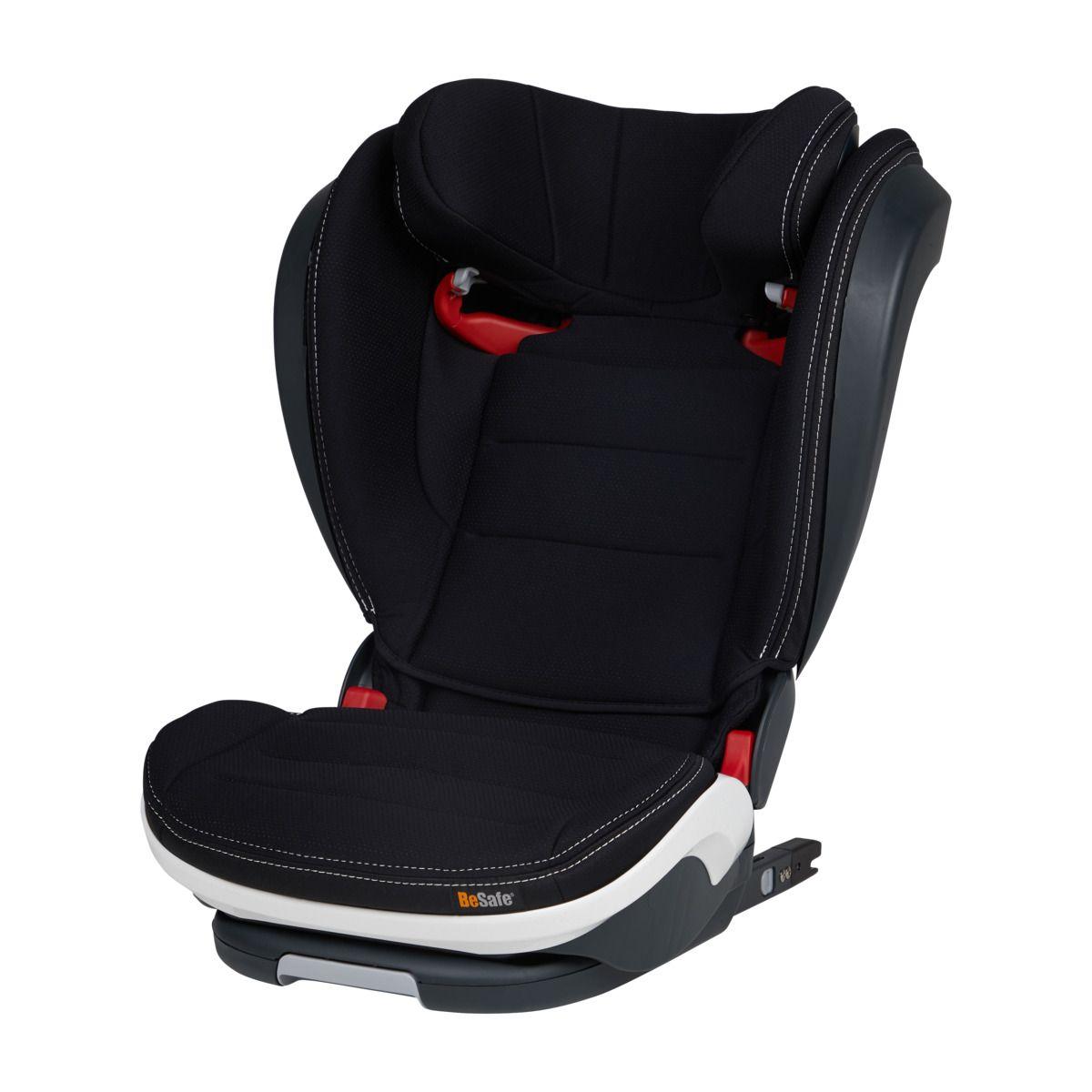 Автокресло BeSafe iZi Flex S Fix Premium Car Interior Black (+ Защитный чехол СМЕШАРИКИ в подарок!)