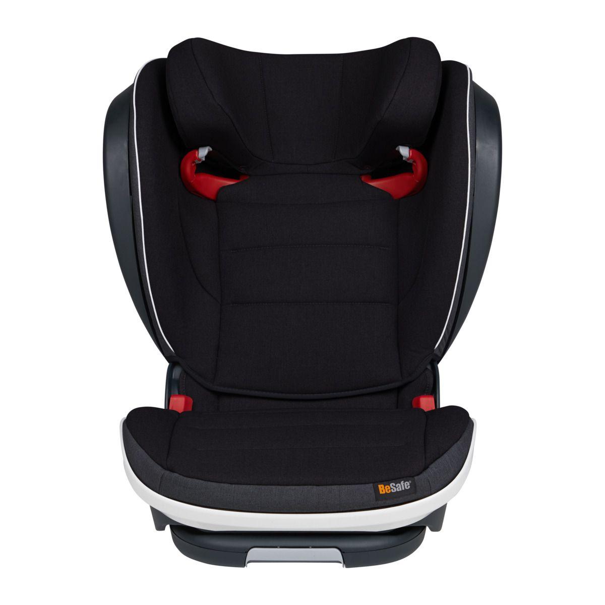Автокресло BeSafe iZi Flex S Fix Midnight Black Mèlange (+ Защитный чехол СМЕШАРИКИ в подарок!)