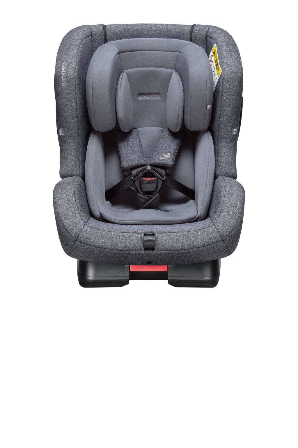 Автокресло DAIICHI First 7™ Plus Charcoal (+ Защитный чехол СМЕШАРИКИ в подарок!)