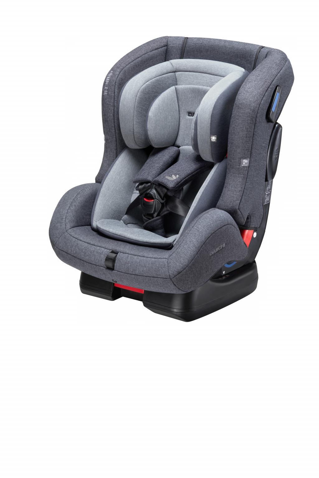 Автокресло DAIICHI First 7™ Plus Grey (+ Защитный чехол СМЕШАРИКИ в подарок!)