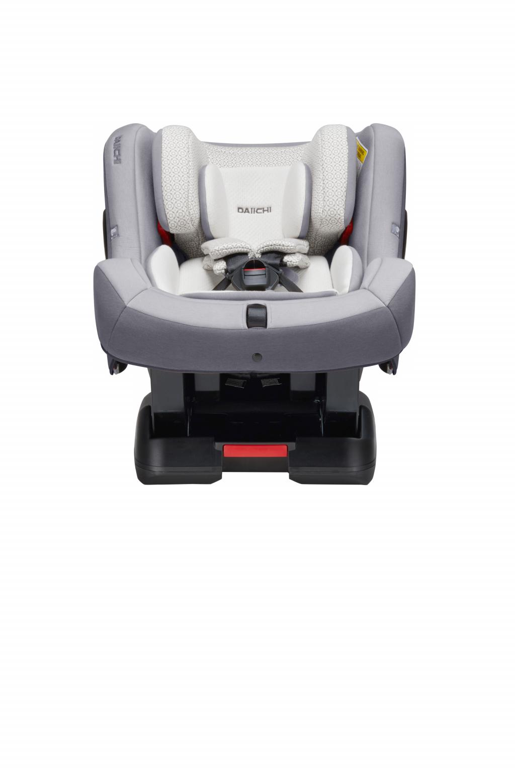 Автокресло DAIICHI First 7™ Plus Organic Grey (+ Защитный чехол СМЕШАРИКИ в подарок!)