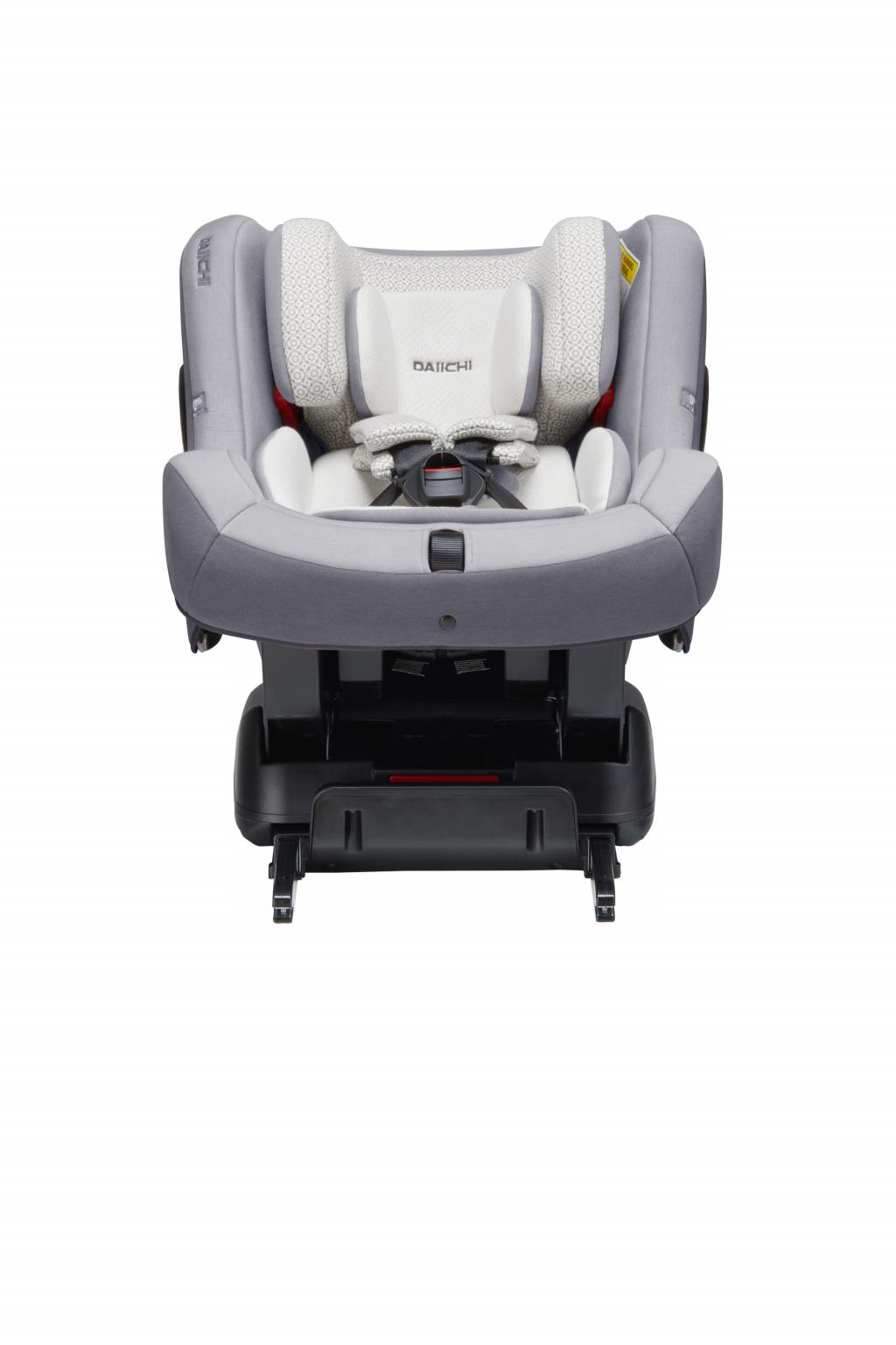Автокресло DAIICHI First 7™ Plus Organic Grey (ISOFIX) (+ Защитный чехол СМЕШАРИКИ в подарок!)