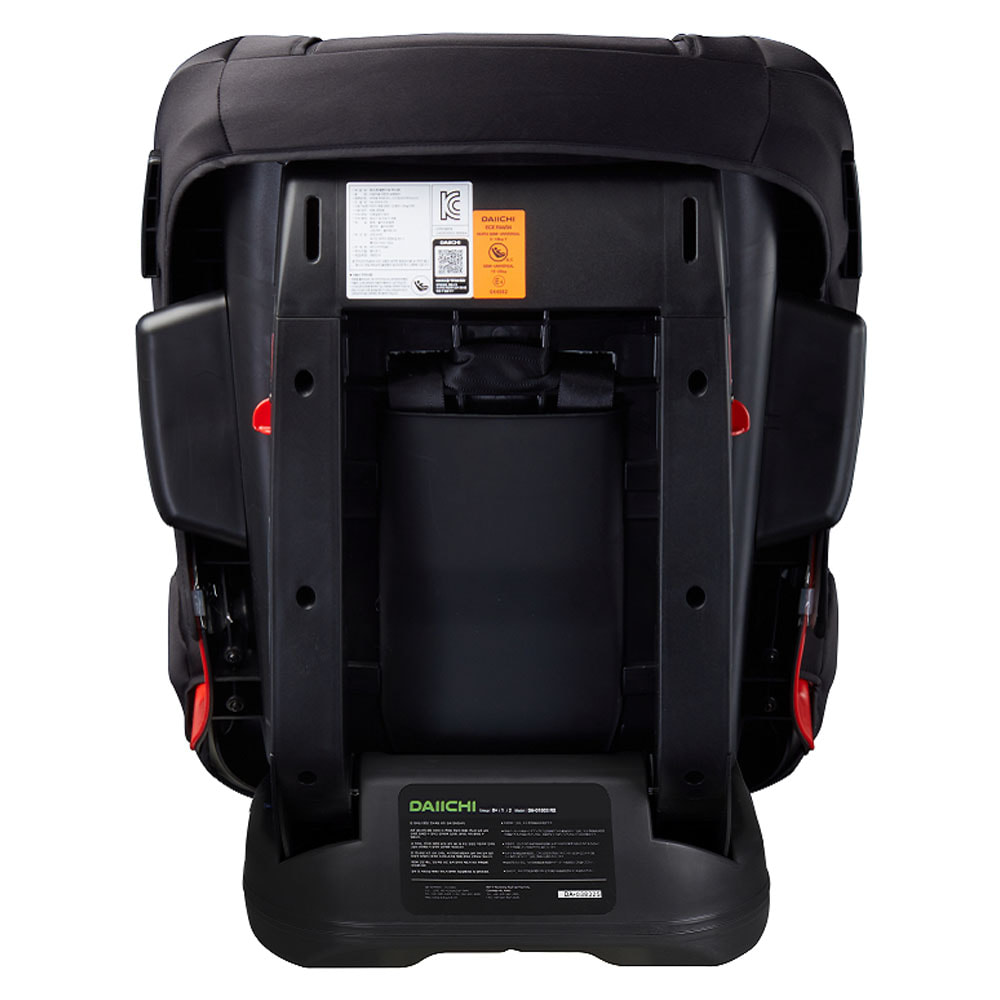 Автокресло DAIICHI First 7™ Plus Platinum Black (+ Защитный чехол СМЕШАРИКИ в подарок!)