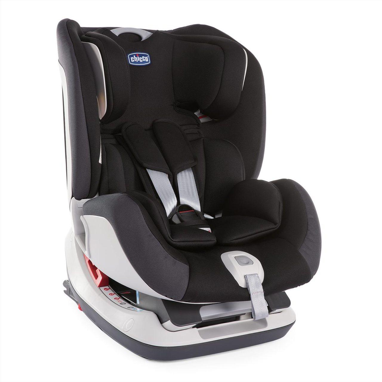 Автокресло Chicco Seat-up JET BLACK (+ Защитный чехол СМЕШАРИКИ в подарок!)