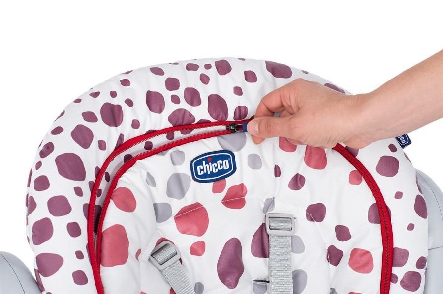 Стульчик для кормления Chicco Polly Progres5 Cherry (+ Защитный чехол СМЕШАРИКИ в подарок!)