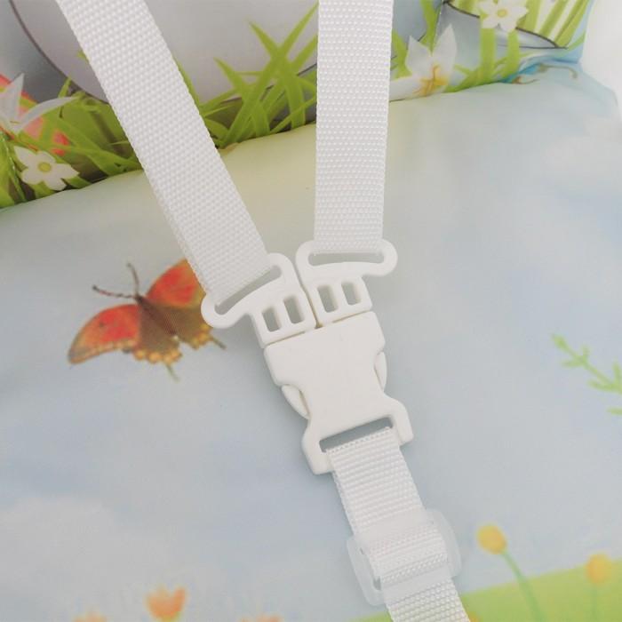 Стульчик для кормления BAMBOLA с перекидной столешницей ЗАЙКА (+ Защитный чехол СМЕШАРИКИ в подарок!)