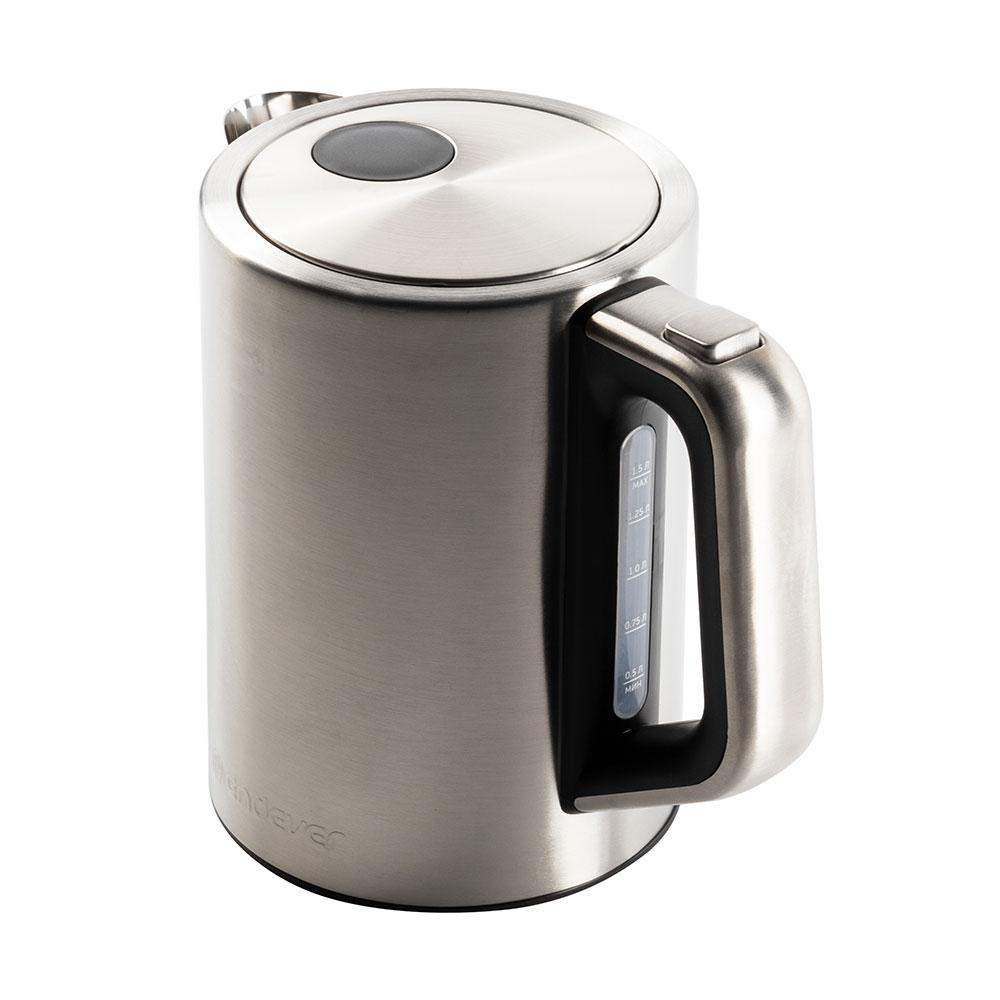 Чайник электрический Endever Skyline KR-240S (стальной/черный)
