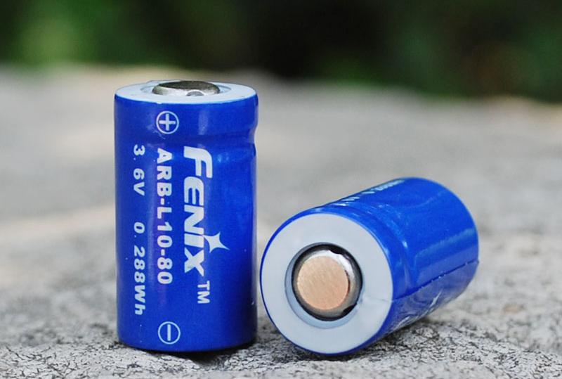 Аккумулятор Fenix ARB-L10-80  Rechargeable Li-ion Battery (+ Антисептик-спрей для рук в подарок!)