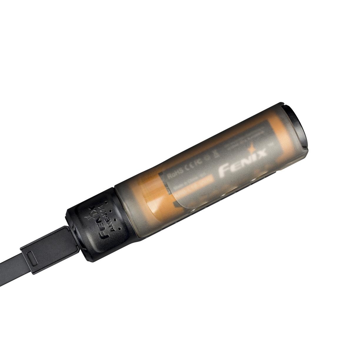 Набор зарядное устройство+аккумулятор на 18650 Fenix 3500U mAh Fenix ARE-X11 NEW (+ Антисептик-спрей для рук в подарок..