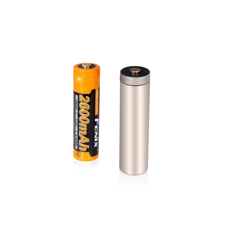 Аккумулятор 18650 Fenix ARB-L18-2600 (+ Антисептик-спрей для рук в подарок!)