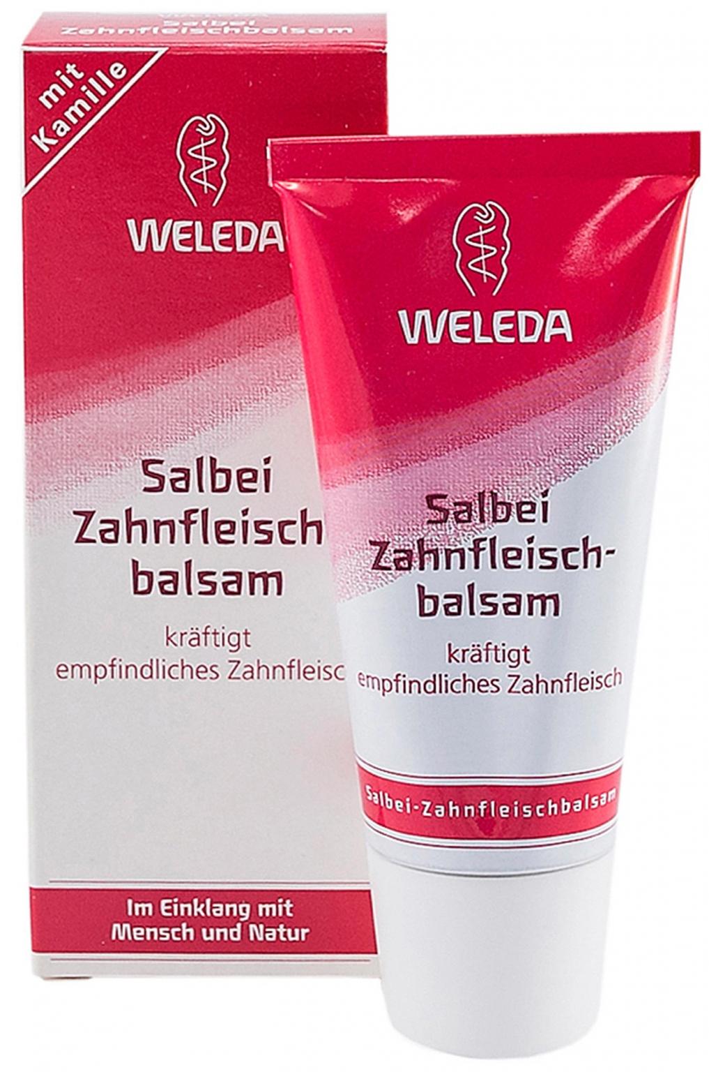 Бальзам для зубов и полости рта Weleda (с шалфеем) 30 мл