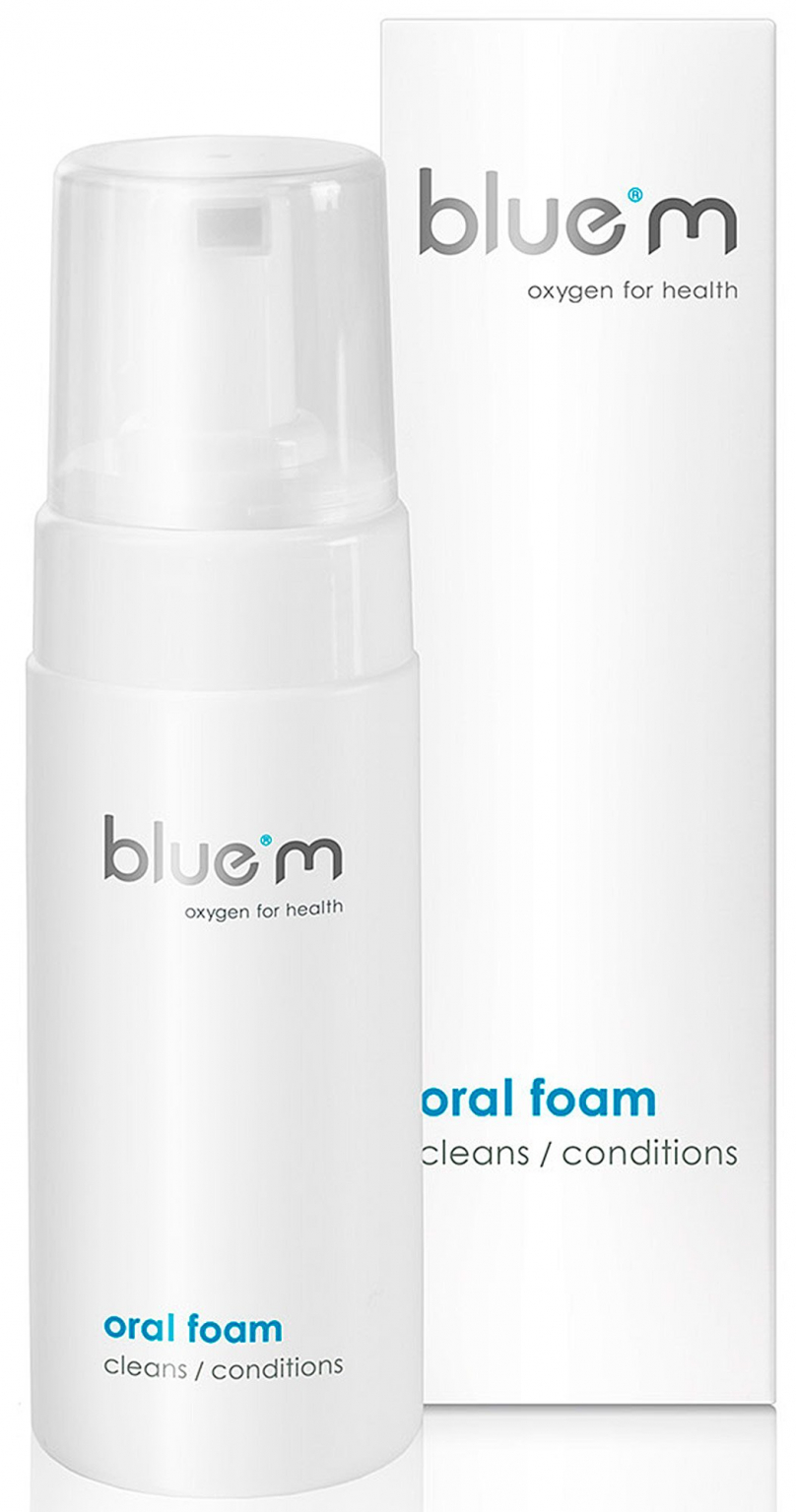 Пенка для зубов Bluem с активным кислородом 100 мл