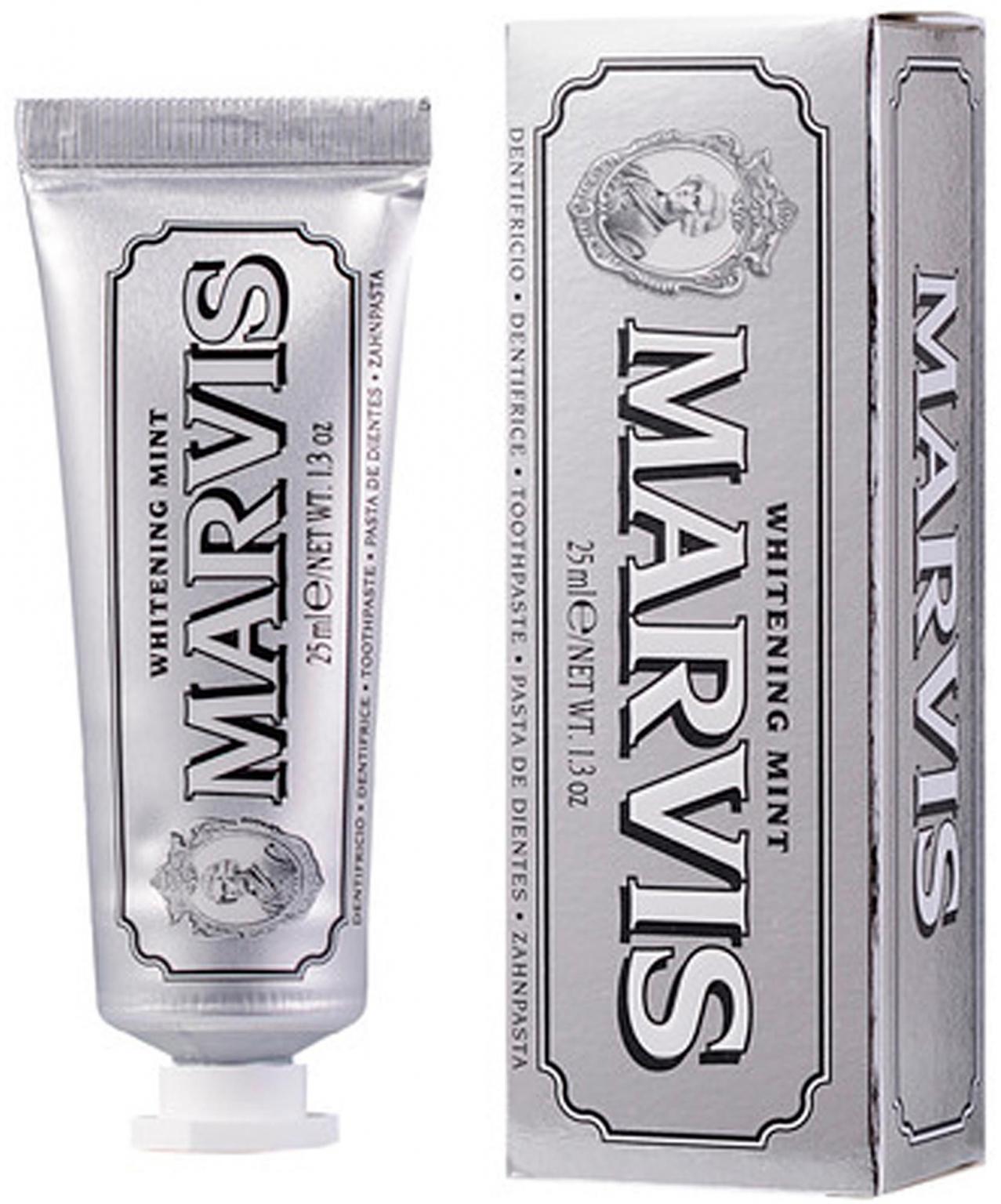 Зубная паста Marvis Whitening Mint Отбеливающая 25 мл