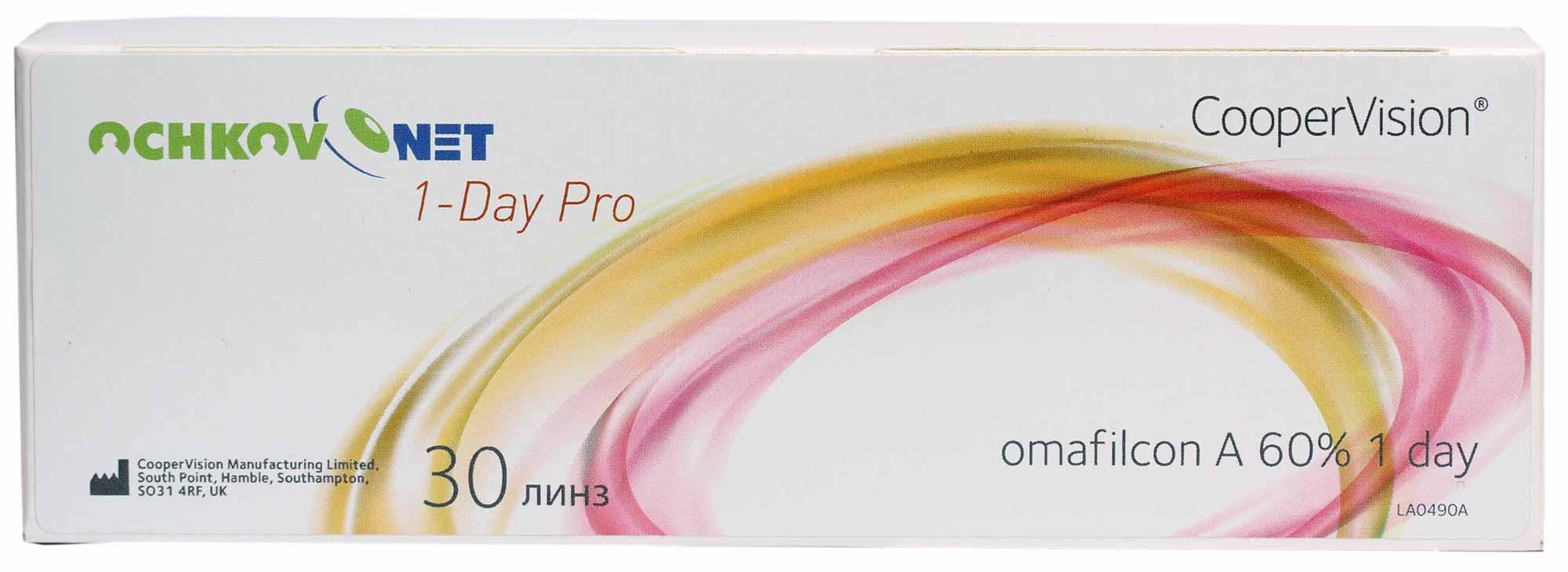 Контактные линзы Ochkov.Net 1-Day Pro 30 линз