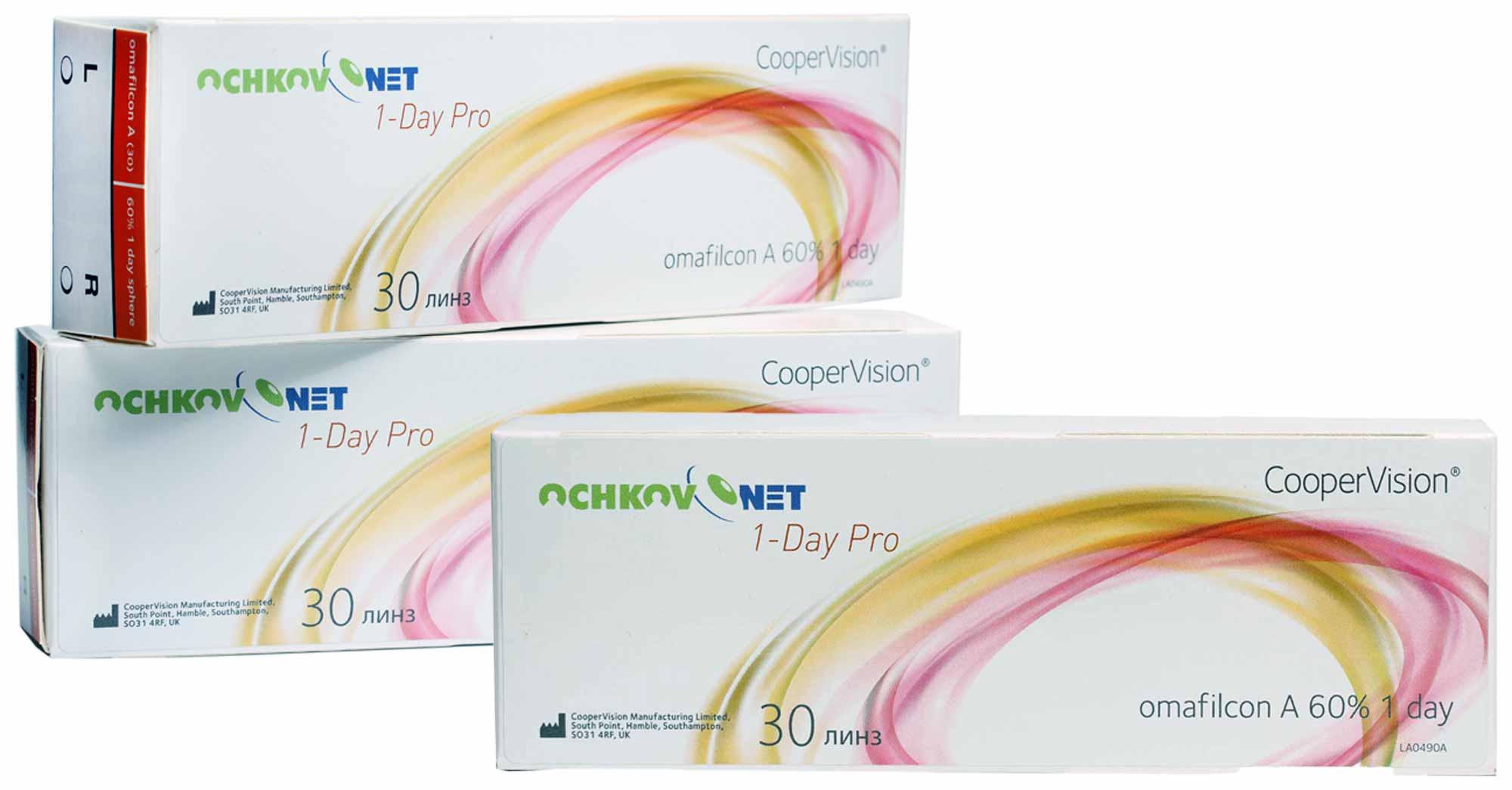 Контактные линзы Ochkov.Net 1-Day Pro 90 линз