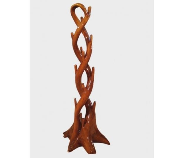 Antik unique wooden hanger Whirlwind