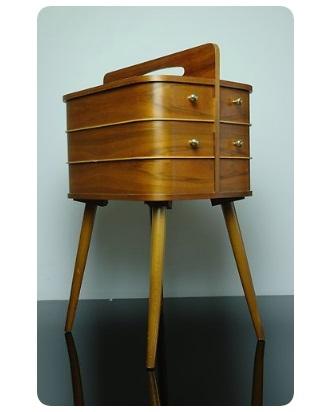Danish Modern Sewing Box