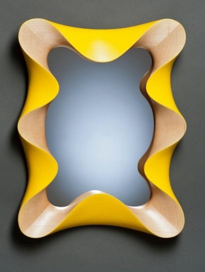 Classic Teak Wood Mirror