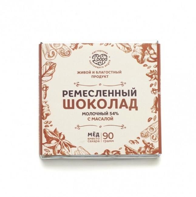 """Шоколад молочный с Масалой """"Добро"""" 90 гр"""