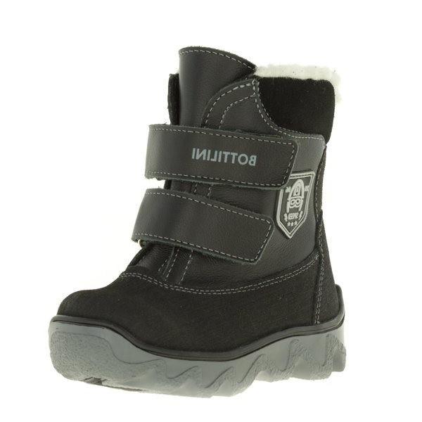 """Модель: BL-260 (5) Ботинки детские зимние, натуральная кожа/шерстяной мех """"Bottilini"""""""