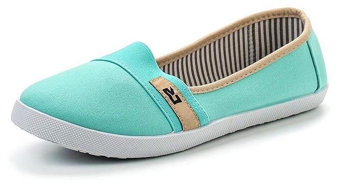 """Модель: 277031/01-03 мятный Туфли для девочек - слипоны """"Crosby"""""""