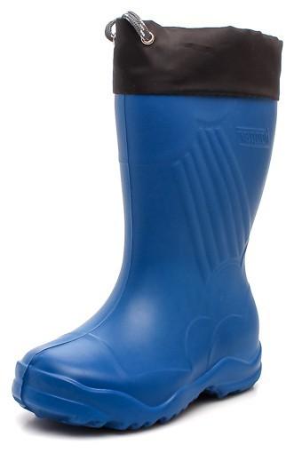 """Модель: 3-122-B01 синий Сапоги детские ЭВА, с манжетой, утеплённые """"Nordman"""""""