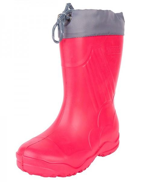 """Модель: 3-122-R02 красный Сапоги детские ЭВА, с манжетой, утеплённые """"Nordman"""""""