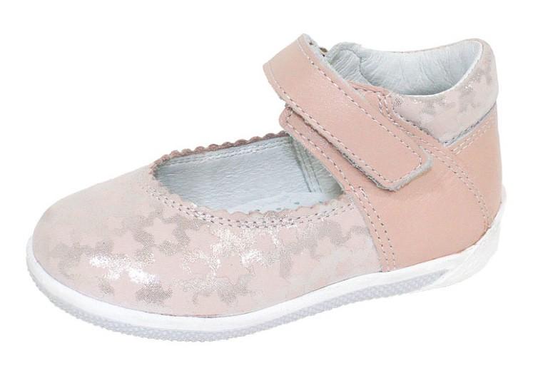 """Модель: м 3-1417 розовый Туфли детские для девочек """"Лель"""""""