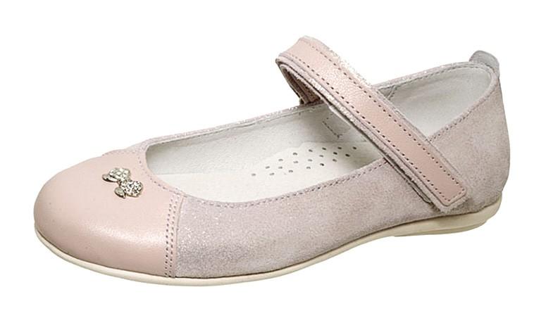 """Модель: м 3-1425 розовый Туфли девочек кожаные """"Лель"""""""