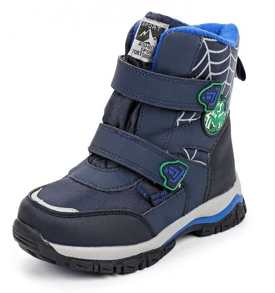 "Модель: B-5724-K Ботинки для мальчика утеплённые ""Tom&Miki"""