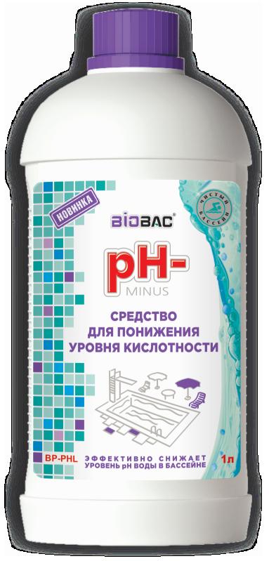 pH- МИНУС для понижения уровня кислотности BP-PHL